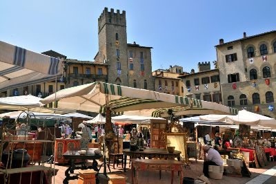 Antique Fair in Arezzo