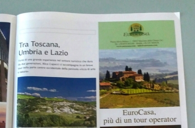 An article from the Viaggio in Italia magazine about our agency