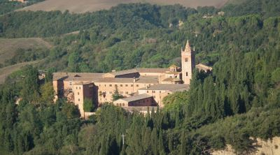 The Abby of Monte Oliveto Maggiore