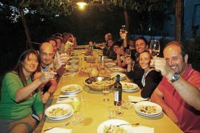 Typical Tuscan Dinner in villa